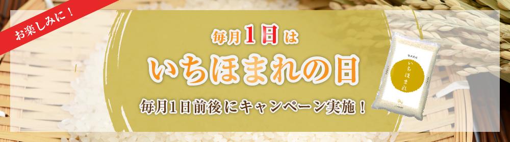 福井県産いちほまれの日