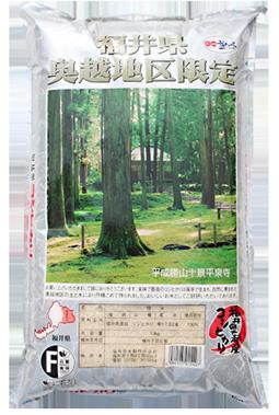 福井県産奥越コシヒカリ 令和元年産年産