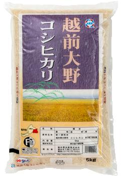 福井県産大野コシヒカリ 令和元年産年産